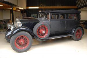 Rolls Royce 20HP in werkplaats